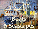 For Sale: Boat & Seascape Paintings by Krystyna Robbins, El Paso, TX Artist