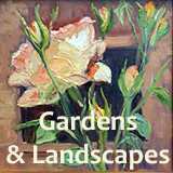 For Sale: Garden and Landscape Paintings by Krystyna Robbins, El Paso, TX Artist